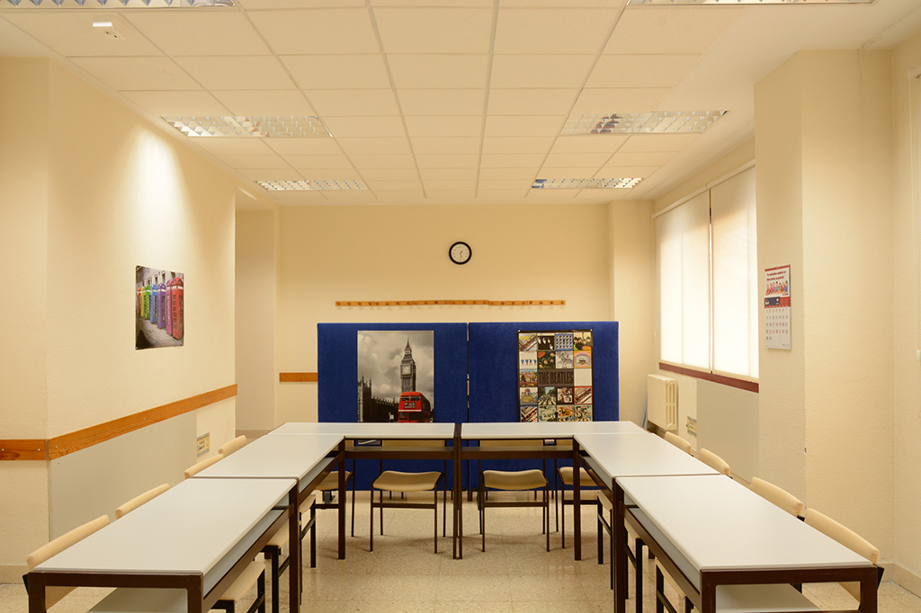 Aula de Estudio Colegio Mayor Mendel