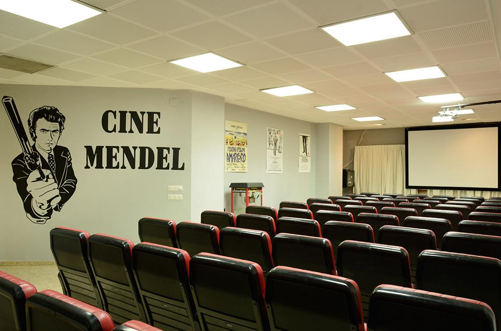 Sala de Cine Colegio Mayor Mendel
