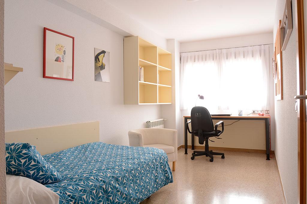 Habitación Colegio Mayor Mendel